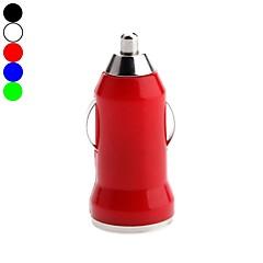킨 스턴의 글 머리 기호 스타일의 USB 차 충전기 애플 / 삼성 / 노키아 / HTC / 소니 / LLG 모바일 용 (5V의 1A, 분류 된 색깔)