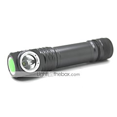 FSC581 Daglig användning 2 lägen 1xCree XML T6 Magnetic Led Flashlight (1000LM.1x18650.Gray)