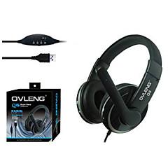OVLENG Q6 Super Bass casque USB