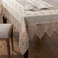 1 Linen / Cotton Blend Square Table Cloths