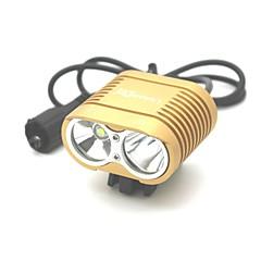 Fietsverlichting LED 3000 Lumens 3 Modus Cree XM-L T6 18650 Schokbestendig Oplaadbaar Waterbestendig Kamperen/wandelen/grotten verkennen