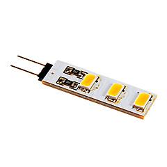 2W G4 LED Bi-Pin lamput 6 SMD 5050 80-100 lm Lämmin valkoinen / Kylmä valkoinen DC 12 V