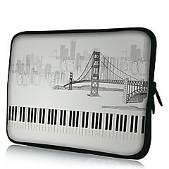 Elonno Les Touches et Ville Housse PC portable Housse de sac de couverture de 11'' MacBook Air Dell Acer HP