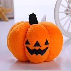 Gatti / Cani Giocattoli per animali Peluche Zucca / Halloween Arancione Tessuto