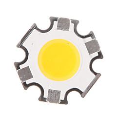 5W COB 450-500LM 3000K luz branca quente LED Chipe (15-17V, 300uA)