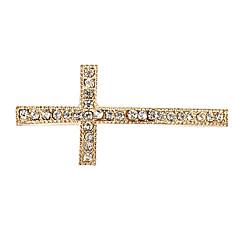 Rhinestone Cross DIY Charms Pendants for Bracelet & Necklace