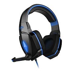 hver G4000 hovedtelefon 3,5 mm i løbet øre gaming volumenkontrol med mikrofon stereo til PC