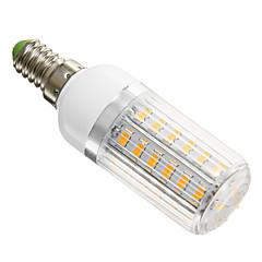 Corn Bulbs , E14 6 W 42 SMD 5730 420 LM Warm White AC 220-240 V