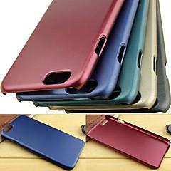 ylellinen metalli tekstuuri kulutusta kestävä kahva mukava kova laukku laadukkaita pc iPhone 6 (valikoituja väriä)