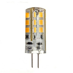 3W G4 LED Bi-pin Lights 24 SMD 2835 270 lm Warm White DC 12 V