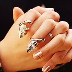 Shixin® Fashion Diamanted Fingertip Statement Ring(1 Pc)