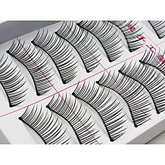 Eyelashes lash Eyelash Natural Long Volumized Fiber