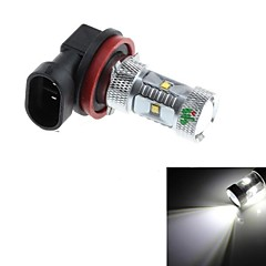 H11 30W  6xCree XB-D R3 2500lm 6000k White Light LED For Car Headlamp (DC 10-30V)