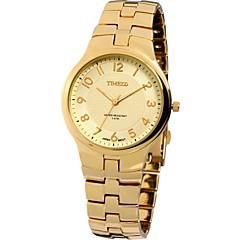 Time100 Men' Round Dial Alloy Strap Whisper Encounter Couple Business Quartz Watch