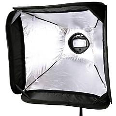 Les bowens de support Speedlite de type de GODOX montage + 60 * 60cm softbox portable sfuv-6060 pour appareil photo avec flash