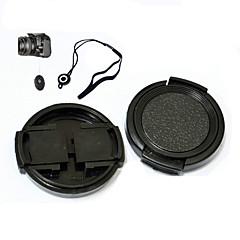 neer 43mm bouchon d'objectif pour sumsung NX3000 16-50mm avec sangle porte-laisse