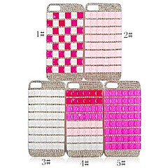 CaseBox® Simple Design with Diamond Back Case for iPhone 4/4S (Assorted Color)