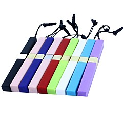 Concise  Touch Screen  Stylus Pen with 3.5mm Anti-dust Plug and Standfor iPad and Others (Assorted Colors)