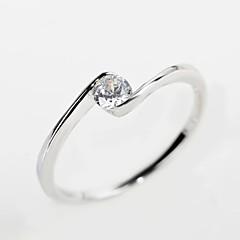 Массивные кольца ( Стерлинговое серебро/Драгоценный камень ) - Свадьба/Для вечеринок/Повседневные