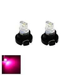 t3 led 0.2W luce rosa cruscotto dell'automobile bordo di cluster calibri lampadina strumento (DC 12V, 2-pack)