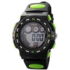 Γυναικεία Καθημερινό Ρολόι Ψηφιακό ρολόι Χαλαζίας Ψηφιακό PU Μπάντα Πεπαλαιωμένο Μαύρο Κίτρινο Κόκκινο Πράσινο