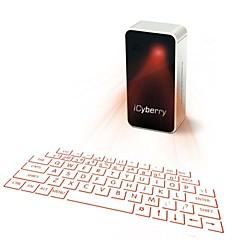 projection laser icyberry clavier virtuel pour iPhone, smartphone, ordinateur portable ou tablette