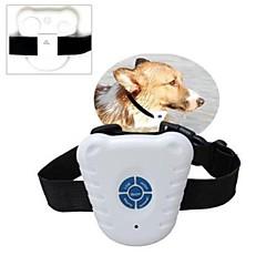 impermeable collar del animal doméstico ultrasónico de control de ladridos de perro dispositivo de entrenamiento seguro control de la corteza al aire