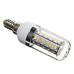 5W E14 / G9 / GU10 Bombillas LED de Mazorca T 36 SMD 5730 350 lm Blanco Natural AC 100-240 V