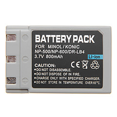 NP-500 NP-600 Mini DV Batttery for Minolta DiMAGE G600 G500 G530