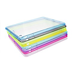 XUNDD Solid Color TPU Transparent Set of Cases Non-slip Soft Case for iPad 4/air