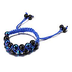 Colorful Acrylic Bead Hipanema Braiding Bracelet