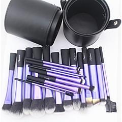 22 Brush Sets Syntetisk Hår Ansigt Læbe Øjne Sedona