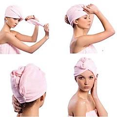 luova nopeus kuivat hiukset korkki kuivat hiukset pyyhe (random väri)
