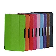 8.3 pulgadas patrón de plegamiento triple de alta calidad de cuero de la PU para lenovo thinkpad 8 (20bn000wcd) (colores surtidos)