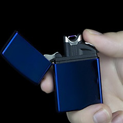 DESIGND Rechargable USB Lighters with Blue LED Light