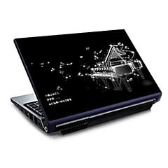 """piano73 patroon laptop beschermende huid sticker voor 15,6 """"laptop"""