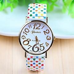 Women's Fashion Style Steel Band Quartz Analog Wrist Watch (Assorted Colors)