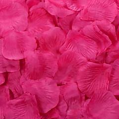 rózsaszirom asztaldísz (vegyes szín) (készlet 100 szirmok)