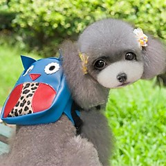 Koty Psy Plecak Niebieski Ubrania dla psów Lato Wiosna/jesień Kreskówka Urocze Motyw świąteczny