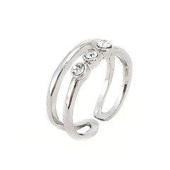 Diamond Opening Fashion Women's Ring(Color Random,Number of Random)