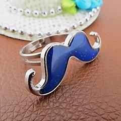Korean Version Moustache Magic Mood Ring