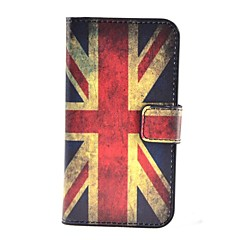 British Flag Pattern PU Leather Case with Stand and Card Slot for Samsung Galaxy Core Plus G3500/Trend 3 G3502