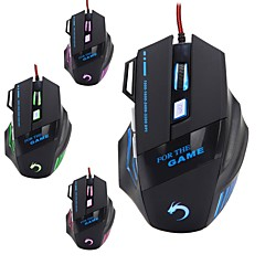 modao W28 7 key high performance usb bedrade gaming muis voor de gamer van 3.200 dpi