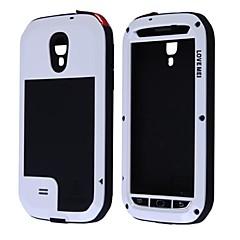 LOVE MEI Waterproof Shockproof Dustproof Aviation Aluminum Alloy Case for Samsung Galaxy S4