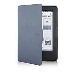 아마존의 새로운 빛나다 2014 (빛나다 7) 전자 책에 대한 수줍은 곰 ™ 6 인치 슬림 스타일의 가죽 커버 케이스