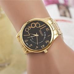 moda femenina rhinestones reloj de pulsera de cuarzo de acero número cinturón árabe (colores surtidos)