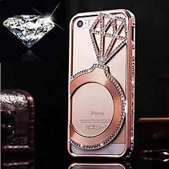 tchèque diamant en aluminium de butoir de diamant de luxe pour iphone 5/5 ans (couleurs assorties)