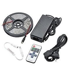 90W 7500lm 300x5630 SMD LED meleg fehér fény LED csík fény készletek (DC 12V)