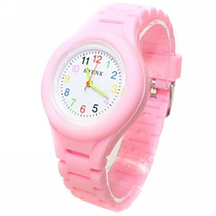 Kid's Analog Coloured Silicone Band Wrist Watch(Assorted Colors) Cool Watches Unique Watches Fashion Watch