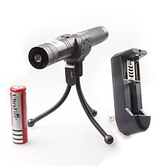 LT-0676 Adjustable Focus Burning Lighter Cutting Green And Red Laser Pointer Kits(3mw,532nm/650nm,1xCR18650)